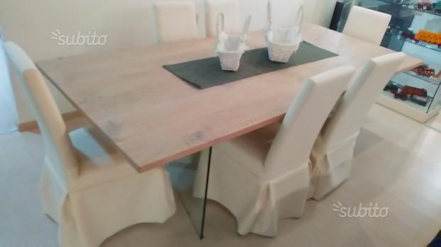 Tavoli Rovere Sbiancato. Affordable Emejing Tavolo Rovere Grigio ...